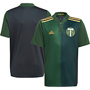 adidas Youth Portland Timbers '21-'22 Primary Replica Jersey