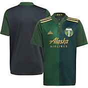 adidas Youth Portland Timbers '21 Primary Replica Jersey