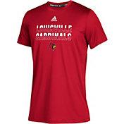 adidas Youth Louisville Cardinals Cardinal Red Climatech Performance T-Shirt