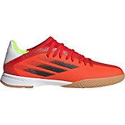 adidas Kids' X Speedflow.3 Indoor Soccer Shoes