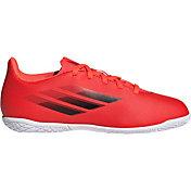 adidas Kids' X Speedflow.4 Indoor Soccer Shoes