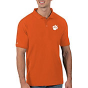Antigua Men's Clemson Tigers Orange Legacy Pique Polo