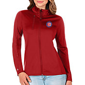 Antigua Women's Chicago Cubs Generation Full-Zip Red Jacket