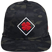 Black Clover + Rawlings Diamond Multicam Flat Brim Hat