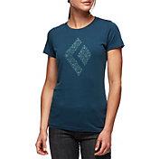 Black Diamond Women's Snow Diamond Short Sleeve T-Shirt