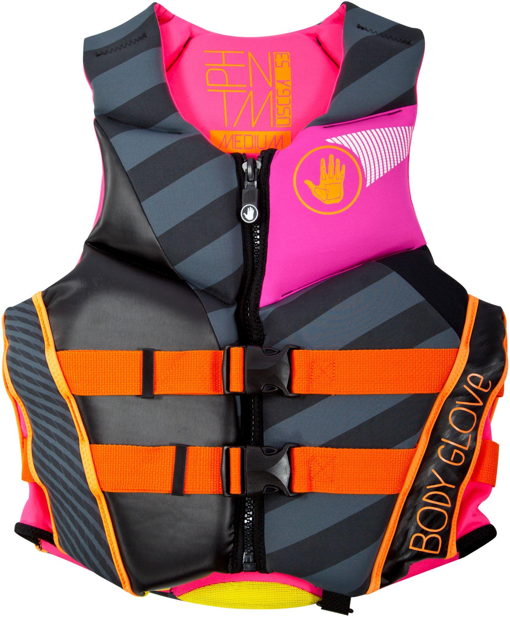 Body Glove Women's Phantom Neoprene Life Vest, XL, Black thumbnail
