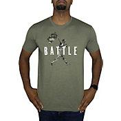Baseballism Men's Flag Man Battle T-Shirt