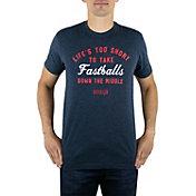 "Baseballism Men's ""Life's Too Short"" T-Shirt"