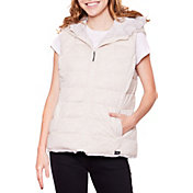 Be Boundless Women's Thermo-Lock Quilted Full-Zip 2-in-1 Hooded Vest