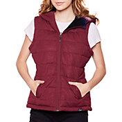 Be Boundless Women's Thermo-Lock Quilted Knit Full-Zip 2-in-1 Tie-Dye Hooded Vest