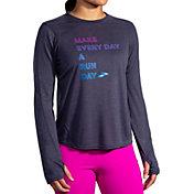 Brooks Women's Distance Graphic Long Sleeve Shirt