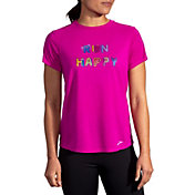 Brooks Women's Run Happy Distance Graphic T-Shirt