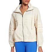CALIA by Carrie Underwood Women's Crinkle Pleated Jacket