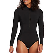 CALIA by Carrie Underwood Women's One Piece Long Sleeve Paddle Suit
