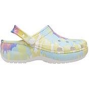 Crocs Women's Classic Tie Dye Platform Clogs