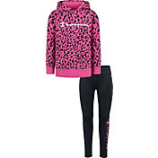 Champion Girls' Leopard Hoodie and Leggings Set