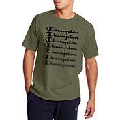 Champion Men's Multiple Script Graphic T-Shirt