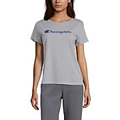 Champion Women's Pop Color Logo T-Shirt