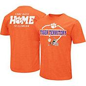 Colosseum Men's Clemson Tigers Orange 'Come Back Home' Dual Blend T-Shirt