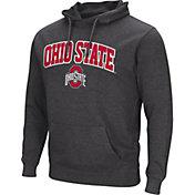 Colosseum Men's Ohio State Buckeyes Black Campus Pullover Hoodie