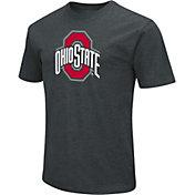 Colosseum Men's Ohio State Buckeyes Gray Logo T-Shirt