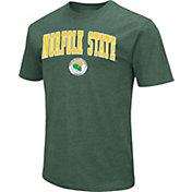 Colosseum Men's Norfolk State Spartans Green Dual Blend T-Shirt