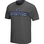 Colosseum Men's Penn State Nittany Lions Grey Marty T-Shirt
