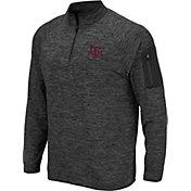 Colosseum Men's Texas A&M Aggies Grey Quarter-Zip Shirt