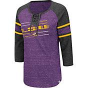 Colosseum Women's LSU Tigers Purple Pasadena ¾ Sleeve T-Shirt