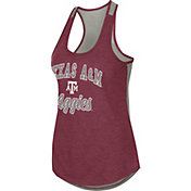 Colosseum Women's Texas A&M Aggies Maroon Mary Racerback Tank Top