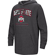 Colosseum Youth Ohio State Buckeyes Black Pullover Hoodie