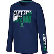 Colosseum Youth Notre Dame Fighting Irish Navy Long Sleeve T-Shirt