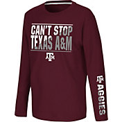 Colosseum Youth Texas A&M Aggies Maroon Long Sleeve T-Shirt