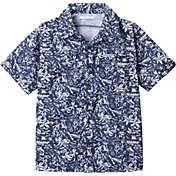 Columbia Boy's Slack Tide Short Sleeve Camp Shirt