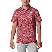 Columbia Men's Alabama Crimson Tide Crimson Slack Tide Button-Down Shirt