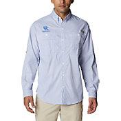 Columbia Men's Kentucky Wildcats Blue Super Tamiami Long Sleeve Shirt