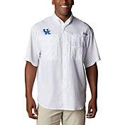 Columbia Men's Kentucky Wildcats White Tamiami Long Sleeve Shirt