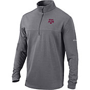 Columbia Men's Texas A&M Aggies Grey Omni-Wick Soar Half-Zip Pullover Shirt