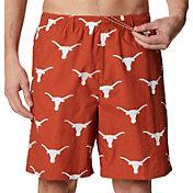 Columbia Men's Texas Longhorns Burnt Orange Backcast II Printed Performance Shorts