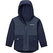 Columbia Toddler Girls' Rainy Trails Fleece Lined Jacket
