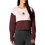 Columbia Women's Trek Colorblock Crewneck Sweatshirt