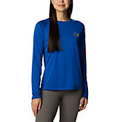 Columbia Women's Florida Gators Blue Tidal Long Sleeve T-Shirt