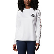 Columbia Women's Ohio State Buckeyes Tidal Long Sleeve White T-Shirt