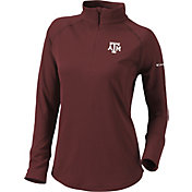 Columbia Women's Texas A&M Aggies Maroon Flop Shot Half-Zip Pullover Shirt