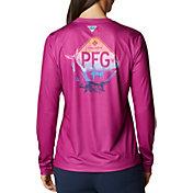 Columbia Women's Tidal Tee PFG Outdoor Fun Long Sleeve Shirt
