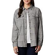 Columbia Women's Pine Street Stretch Flannel Shirt