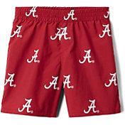 Columbia Youth Alabama Crimson Tide Backcast Printed Performance Red Shorts