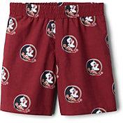 Columbia Youth Florida State Seminoles Backcast Printed Performance Maroon Shorts
