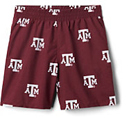 Columbia Youth Texas A&M Aggies Backcast Printed Performance Maroon Shorts
