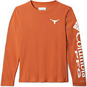 Columbia Men's Texas Longhorns Terminal Tackle Orange Long Sleeve T-Shirt
